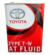 Toyota ATF Type T-IV  4л.  О.Е.М. 08886-81015  (красная)