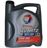 Total 5w-30 Quartz INEO ECS   4л. масло моторное