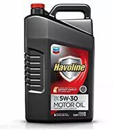 Chevron  Havoline 5w-30  4,82л, масло моторное, гидрокрекинг