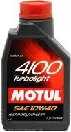 Motul 4100  10w-40  Turbolight  1л масло моторное