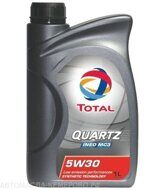 Total 5w-30 Quartz INEO MC3   1л. масло моторное