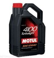 Motul 4100  10w-40  Turbolight  4л масло моторное
