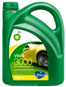 BP  Visco 3000  10w-40 4л, масло моторное, п/синтетика