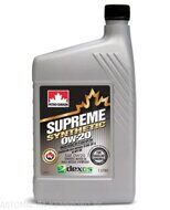 Petro-Canada 0w-20 Supreme Syntetic 1л масло моторное