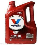 Valvoline  Max Life 10w-40     4л. масло моторное