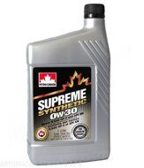 Petro-Canada 0w-30 Supreme Syntetic 1л масло моторное