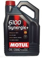 Motul 6100  10w-40 Synergie +  4л масло моторное