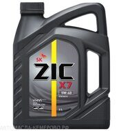 Zic X7  5w-40  4л   масло моторное