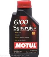 Motul 6100  5w-30  Synergie+  1л масло моторное