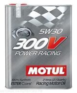 Motul 300  5w-30  V Power Racing  2л масло моторное