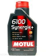 Motul 6100  10w-40  Synergie +  1л масло моторное